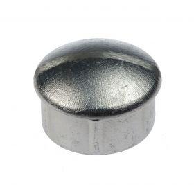 Paalkap inslag (rond), aluminium