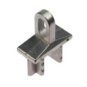 Eindstuk voor kokerprofiel (inslag) aluminium