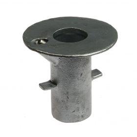 G134 Gegoten grondpot A 17 thermisch verzinkt