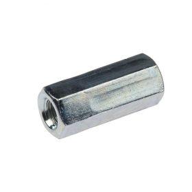 Verbindingsmoer 6-kant, elektrolytisch verzinkt