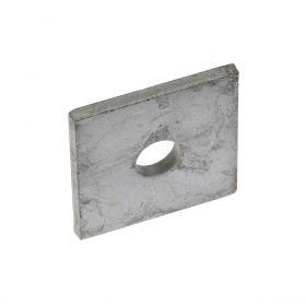 Hoekverbinder bovendeel voor dubbelstaaf, thermisch verzinkt