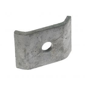 Hoekverbinder onderdeel voor dubbelstaaf, thermisch verzinkt